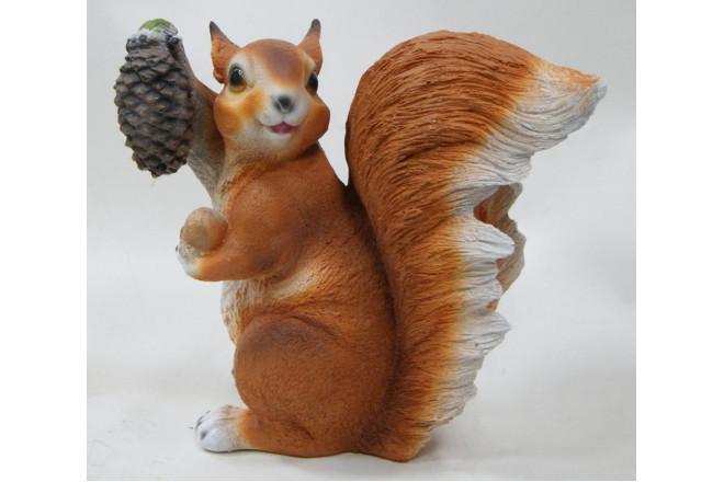 Фигура Белка с большой шишкой - интернет-магазин Крассула