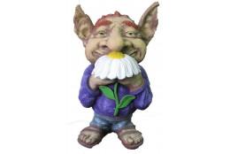 Фигура Гоблин с ромашкой