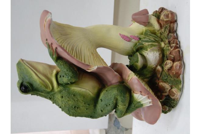 Фигура Лягушка на грибе - интернет-магазин Крассула