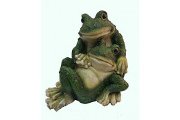 Фигура Лягушки пара на отдыхе