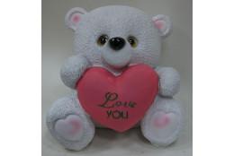 Фигура Медведь Love You