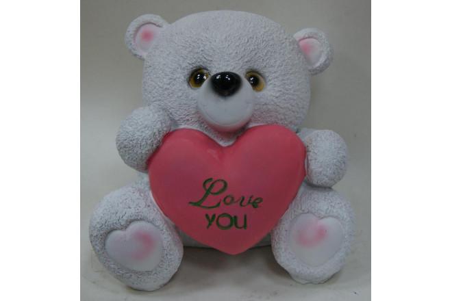 Фигура Медведь Love You - интернет-магазин Крассула