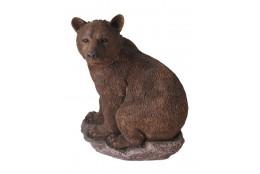 Фигура Медведь на камне