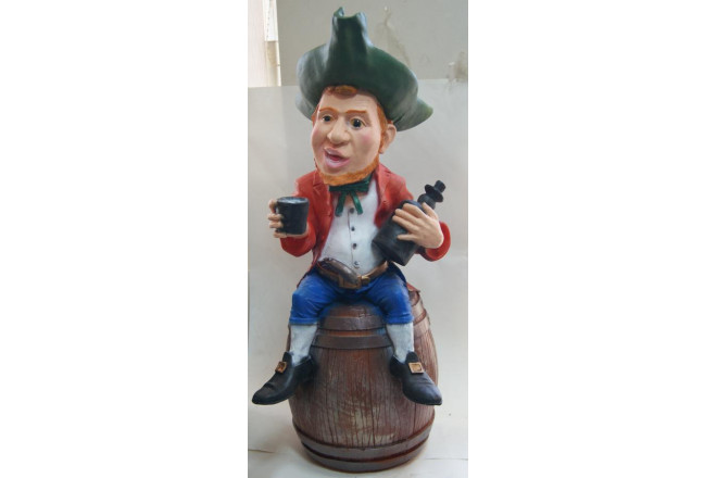 Фигура Пират на бочке - интернет-магазин Крассула