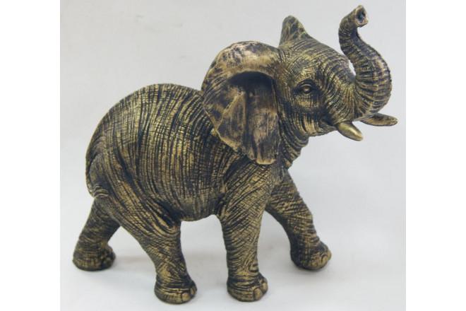 Фигура Слон под бронзу - интернет-магазин Крассула