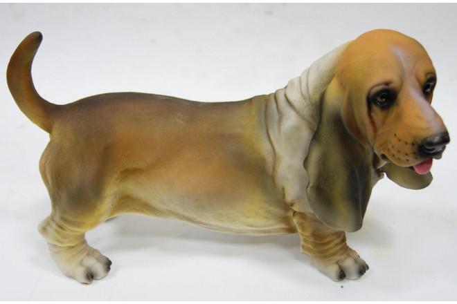 Фигура Собака бассет хаунд - интернет-магазин Крассула