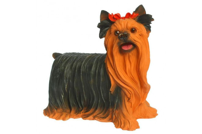 Фигура Собака йорк стоящий - интернет-магазин Крассула