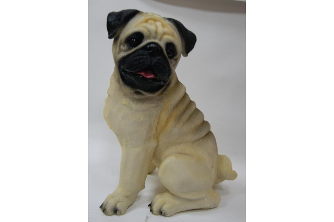Фигура Собака мопс - интернет-магазин Крассула