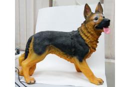 Фигура Собака овчарка стоящая средняя