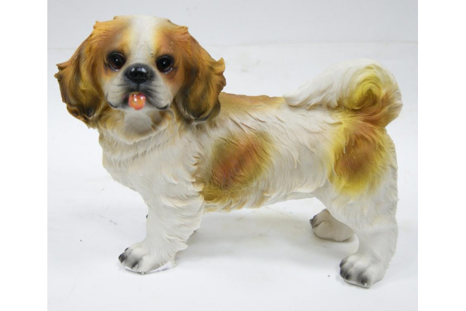 Фигура Собака пекинес - интернет-магазин Крассула