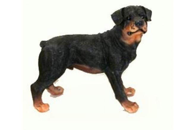 Фигура Собака Ротвейлер - интернет-магазин Крассула