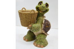 Фигура Зоокашпо Черепаха с корзиной