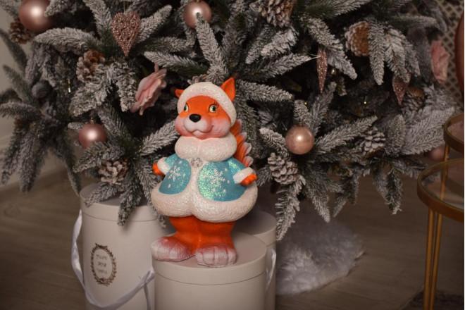 Фигура Белочка Снегурочка - интернет-магазин Крассула