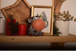 Фигура Новогодний бычок Гриша