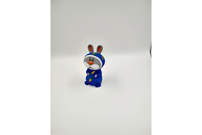 Фигура Мистер Пижамкин в синем новогодний - интернет-магазин Крассула