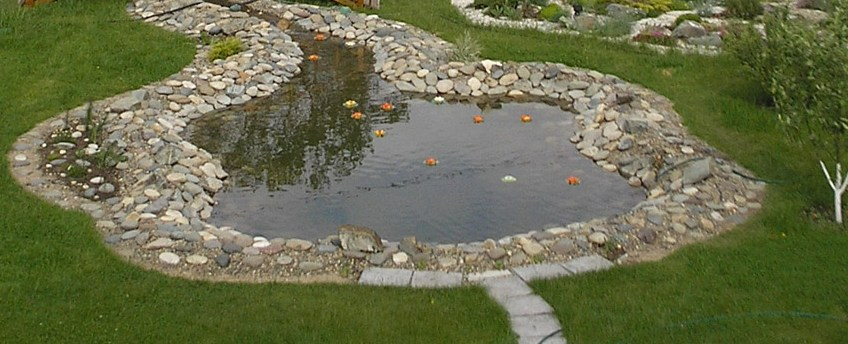Садовые декоративные пруды - интернет-магазин Крассула