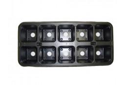 Рассадная кассета 10 ячеек 0.14л   - интернет-магазин Крассула