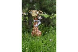 Фигура Жираф с обезьянкой
