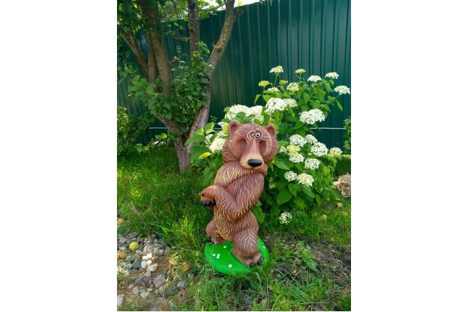 Садовая фигура  Медведь Топтыги - интернет-магазин Крассула