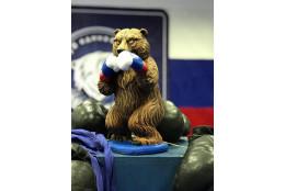 Фигура Медведь боксер