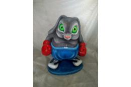 Садовая фигура Кролик боксер