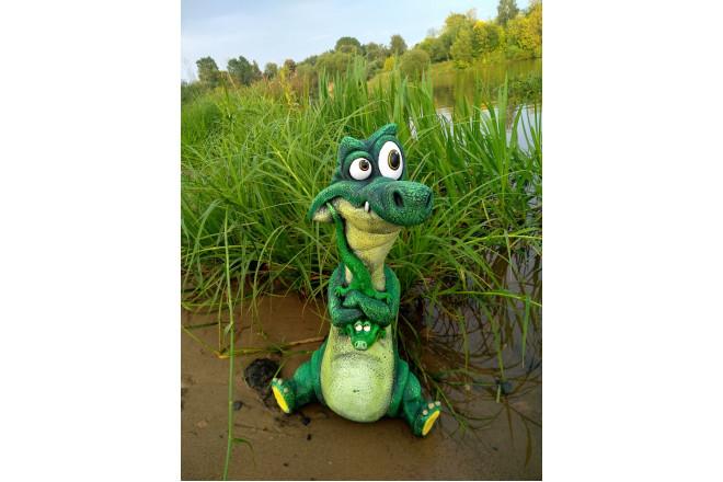 Садовая фигура Крокопапа - интернет-магазин Крассула