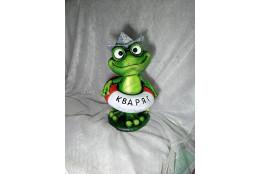 Садовая  фигура Лягушка Кваря - интернет-магазин Крассула