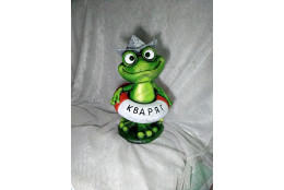 Садовая  фигура Лягушка Кваря