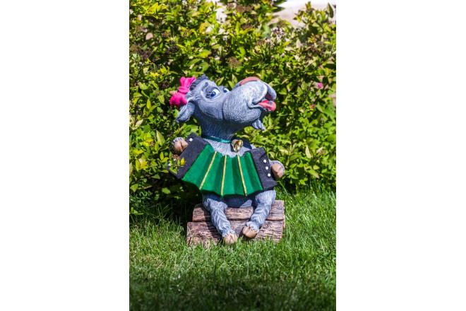Фигура Коза с баяном  - интернет-магазин Крассула