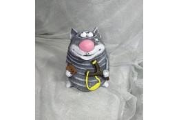 Фигура Кот с рогаткой