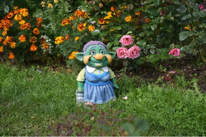 Садовая фигура Плюжинка - интернет-магазин Крассула