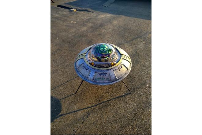Садовая фигура Летающая тарелка - интернет-магазин Крассула