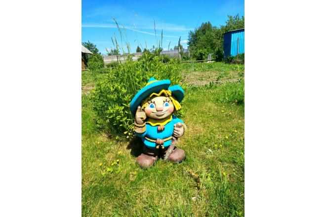 Садовая фигура Соломенный человек - интернет-магазин Крассула