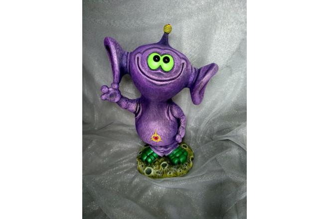 Фигура Инопланетянин Дюша - интернет-магазин Крассула