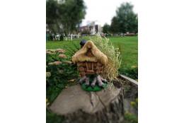 Фигура Избушка с соломенной крышей  - интернет-магазин Крассула