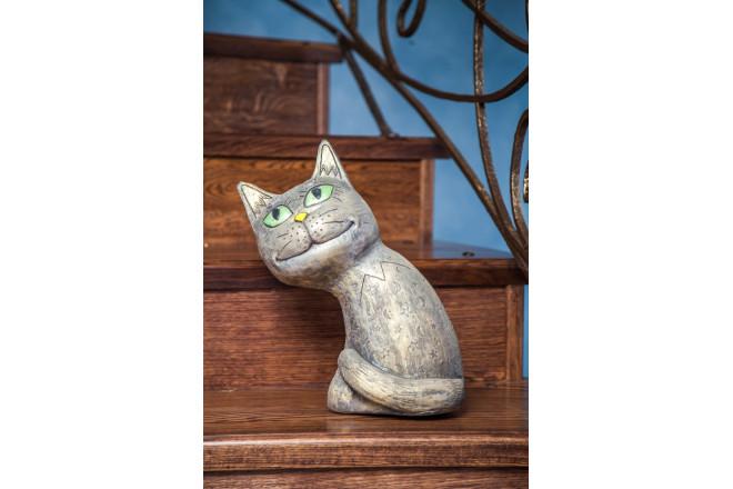 Фигура Лунный кот (однотонный) - интернет-магазин Крассула