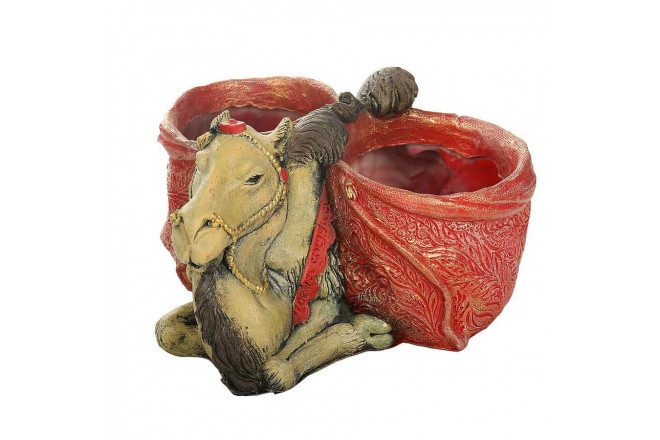 Зоокашпо Верблюд с хурджинами (цветной) - интернет-магазин Крассула