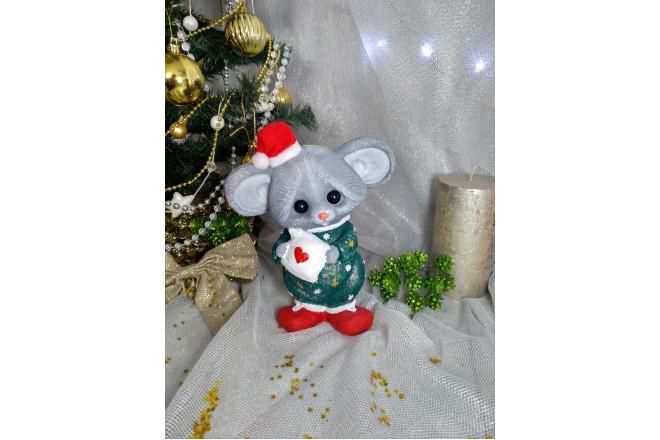 Фигура Мышка Соня новогодняя  - интернет-магазин Крассула