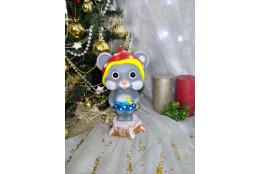 Фигура Мышка  Валя новогодняя