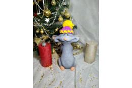 Фигура  Плутишка в шапке - интернет-магазин Крассула
