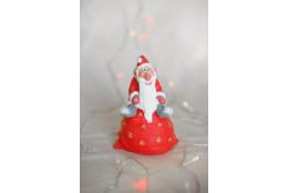 Фигура Дед Мороз на мешке