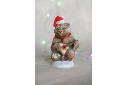 Фигура Медведь с балалайкой новогодний