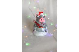 Фигура Поросенок с шашлычком новогодний