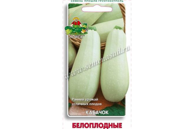 Кабачок Белоплодные - интернет-магазин Крассула
