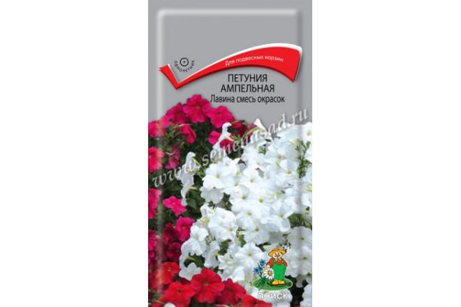 Петуния ампельная Лавина смесь окрасок F1 - интернет-магазин Крассула
