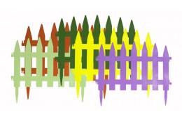 Декоративный заборчик Солнечный сад