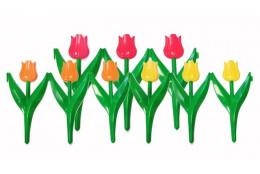 Декоративный заборчик Тюльпан