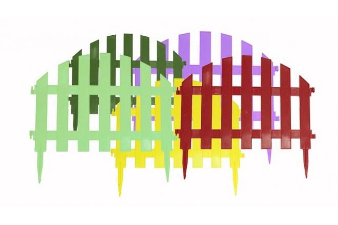 Декоративный заборчик Уютный сад  - интернет-магазин Крассула