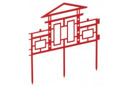 Забор декоративный Дворики - интернет-магазин Крассула